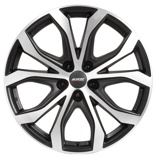 Диски Alutec W10X Racing Black Front Polished