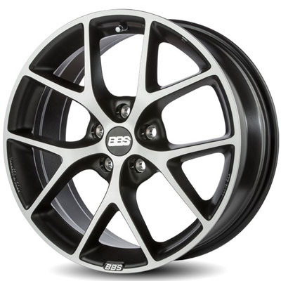 Диски BBS SR041 Vulcano Grey Diamond Cut