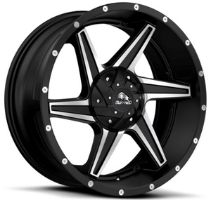Диски BUFFALO BW-011 satin-black__machined